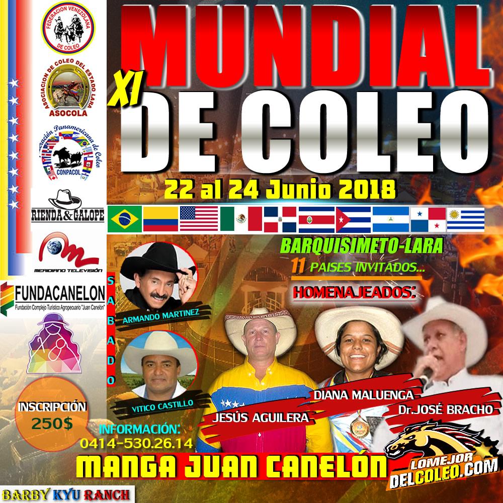 MUNDIAL DE COLEO 2018 listo